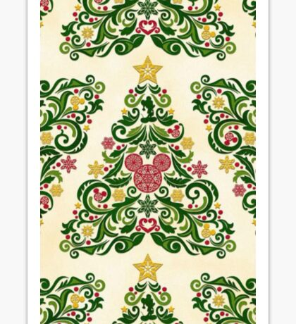 Disney Christmas Tree Sticker
