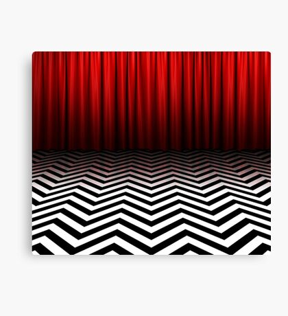 Twin Peaks - Black Lodge Canvas Print