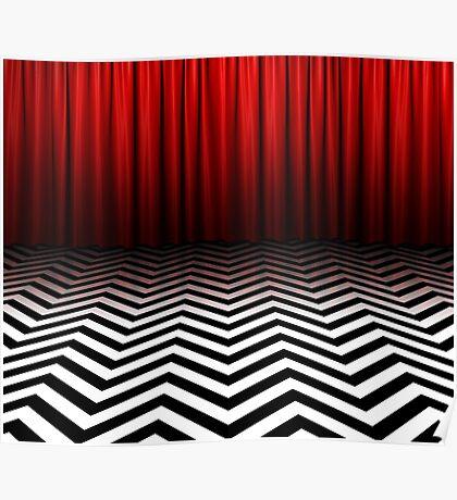 Twin Peaks - Black Lodge Poster