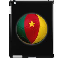 Cameroon - Cameroonian Flag - Football or Soccer 2 iPad Case/Skin