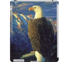 Morning Quest - Bald Eagle Oil Painting iPad Case/Skin