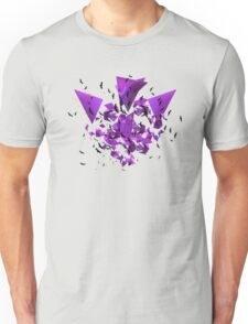 3D Geometry and Birds Flying T-Shirt