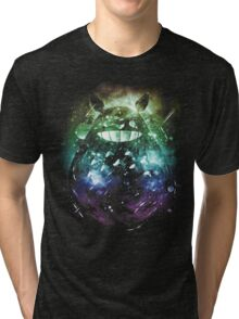 the big friend nebula - rainbow version Tri-blend T-Shirt