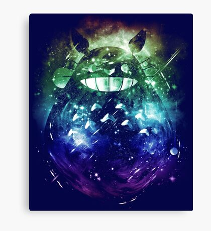 the big friend nebula - rainbow version Canvas Print