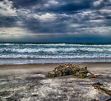 Ocean after the storm by Mindseyephotos