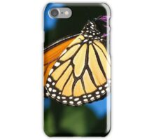 Monarch flight iPhone Case/Skin