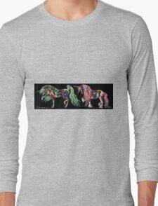 Licorne De Cirque Long Sleeve T-Shirt