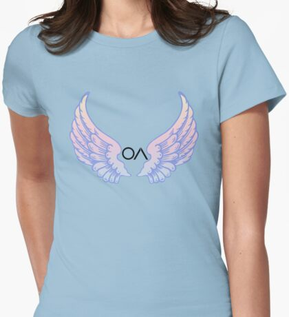 OA ver.bluewings Womens Fitted T-Shirt