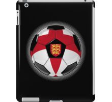 England - English Flag - Football or Soccer iPad Case/Skin