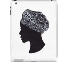 The Beautiful Woman with Turban iPad Case/Skin