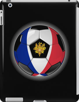 France - French Flag - Football or Soccer by graphix