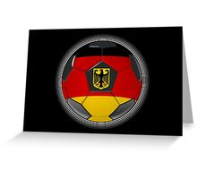 Germany - German Flag - Football or Soccer Greeting Card