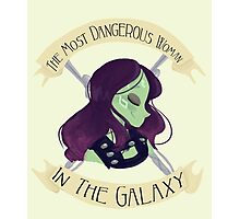 The Most Dangerous Woman in the Galaxy Photographic Print