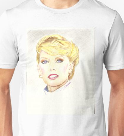 Blond with french twist Unisex T-Shirt