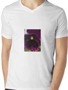 purple flower Mens V-Neck T-Shirt
