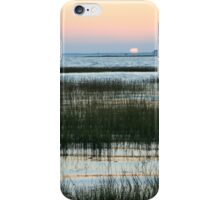 Sunset and Marsh Grass iPhone Case/Skin
