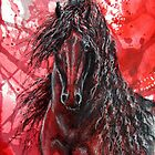 "Friesian Stallion - ""The Wizzard"" by louisegreen"