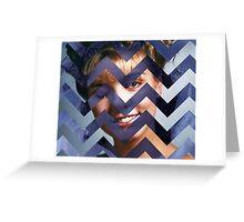 Twin Peaks - Laura Black Lodge Greeting Card