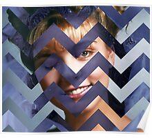 Twin Peaks - Laura Black Lodge Poster