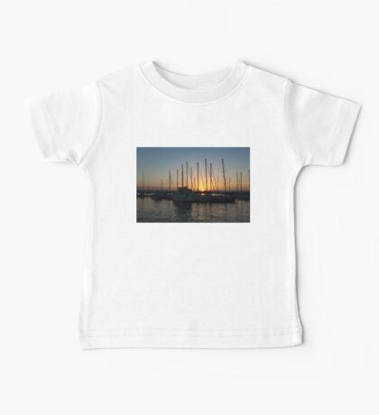 Sunset Through the Rigging -  Baby Tee