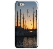 Sunset Through the Rigging -  iPhone Case/Skin
