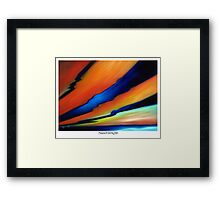 Sunset Delight Framed Print