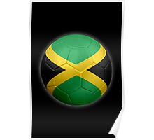 Jamaica - Jamaican Flag - Football or Soccer 2 Poster