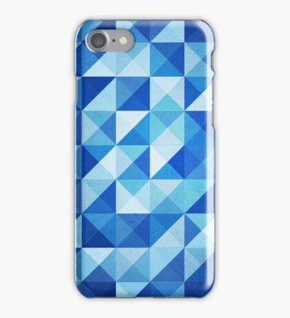 Blue Triangles iPhone Case/Skin