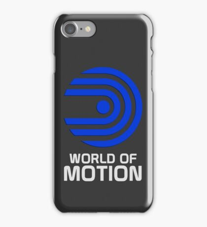 World Of Motion iPhone Case/Skin