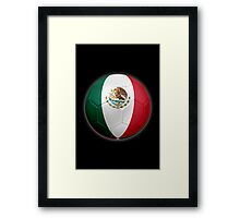 Mexico - Mexican Flag - Football or Soccer 2 Framed Print