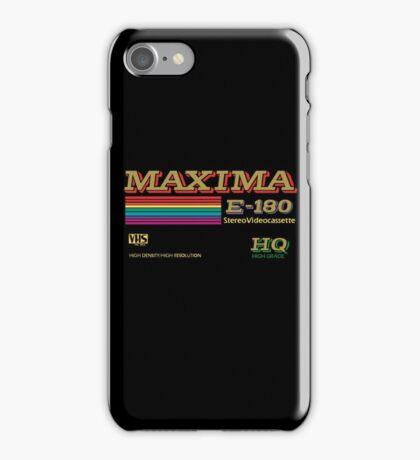 Maxima retro videotape! iPhone Case/Skin