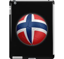 Norway - Norwegian Flag - Football or Soccer 2 iPad Case/Skin