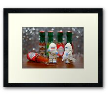 Yeti can't take the heat! Framed Print