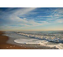 Sunrise On Rehoboth Beach 2 Photographic Print