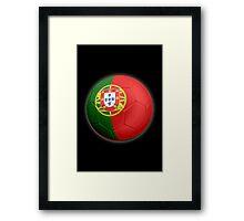 Portugal - Portuguese Flag - Football or Soccer 2 Framed Print