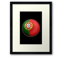 Portugal - Portuguese Flag - Football or Soccer 2 Framed Print