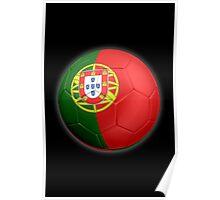 Portugal - Portuguese Flag - Football or Soccer 2 Poster