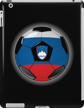 Slovenia - Slovenian Flag - Football or Soccer by graphix