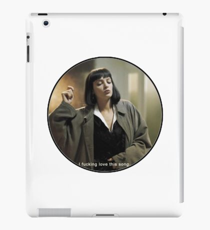 Mia Wallace iPad Case/Skin