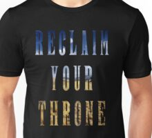 Reclaim Your Throne - Day/black Unisex T-Shirt