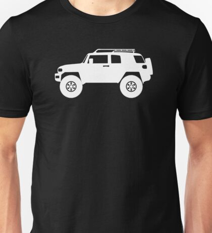 Lifted 4x4 offroader - for Toyota FJ Cruiser enthusiasts Unisex T-Shirt
