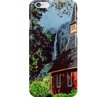 YOSEMITE FALLS AND CHAPLE iPhone Case/Skin