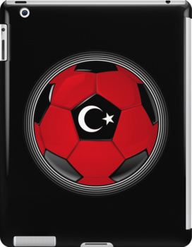 Turkey - Turkish Flag - Football or Soccer by graphix