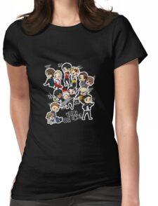 Yuri On Ice - Full Chibi Team! Womens Fitted T-Shirt