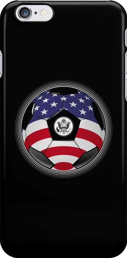 USA - American Flag - Football or Soccer by graphix