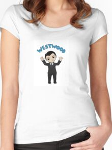 """Jim Moriarty """"Westwood"""" T-Shirt Women's Fitted Scoop T-Shirt"""