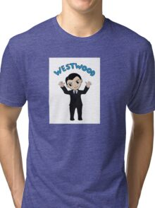 "Jim Moriarty ""Westwood"" T-Shirt Tri-blend T-Shirt"