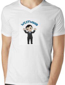 "Jim Moriarty ""Westwood"" T-Shirt Mens V-Neck T-Shirt"