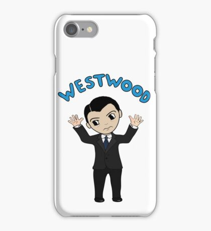 "Jim Moriarty ""Westwood"" T-Shirt iPhone Case/Skin"