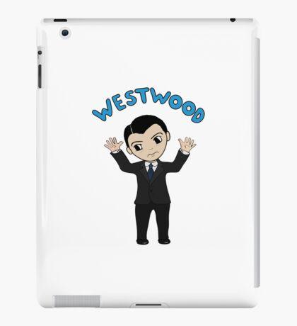 "Jim Moriarty ""Westwood"" T-Shirt iPad Case/Skin"